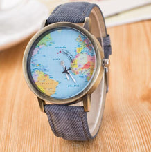 Load image into Gallery viewer, World Map Watch