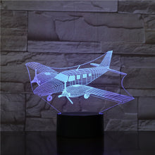 Load image into Gallery viewer, Aircraft 3d lamp