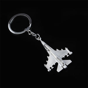 Metal Aircraft Keychains