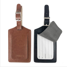 Load image into Gallery viewer, Luggage Tags Leather Bag Tags