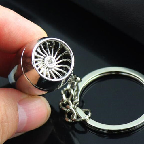 Engine Keychain