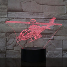 Load image into Gallery viewer, Airplane 3D Lamp