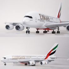 Load image into Gallery viewer, Emirates Airbus A380 Resin Model - 1:160 scale
