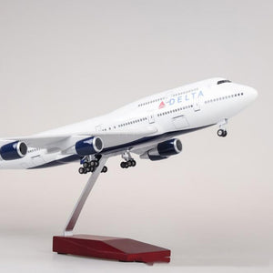 Delta Airlines Boeing B747 Resin Model - 1:150 scale