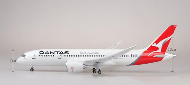 Qantas Boeing B787-8 Resin Model - 1:130 scale