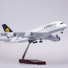 Load image into Gallery viewer, Lufthansa Airbus A380 Resin Model - 1:160 scale