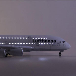 Lufthansa Airbus A380 Resin Model - 1:160 scale