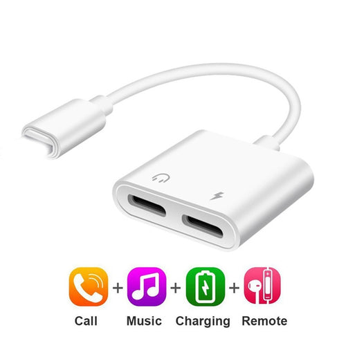 Dual Headphone Adapter for Iphone
