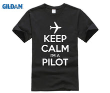 Load image into Gallery viewer, KEEP CALM I'M A PILOT Shirt