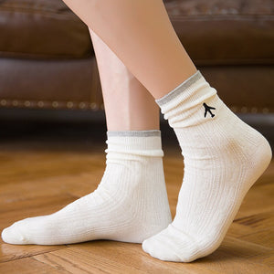 Cotton Airplane Socks