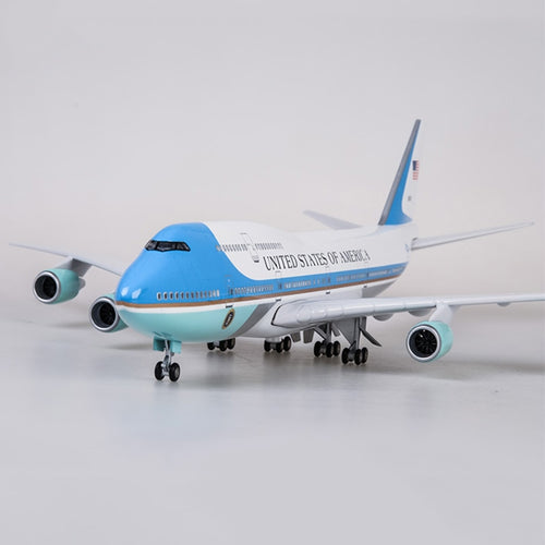 Air Force One Boeing B747 Resin Model - 1:150 scale