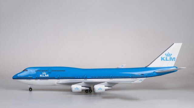 KLM Boeing B747 Resin Model - 1:157 scale