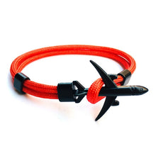 Load image into Gallery viewer, BOHO 2019 New Boeing Airplane Anchor Bracelet