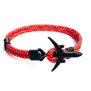BOHO 2019 New Boeing Airplane Anchor Bracelet