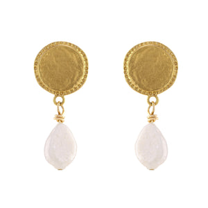 Sondr London - The Chance Pearl Drop Earrings