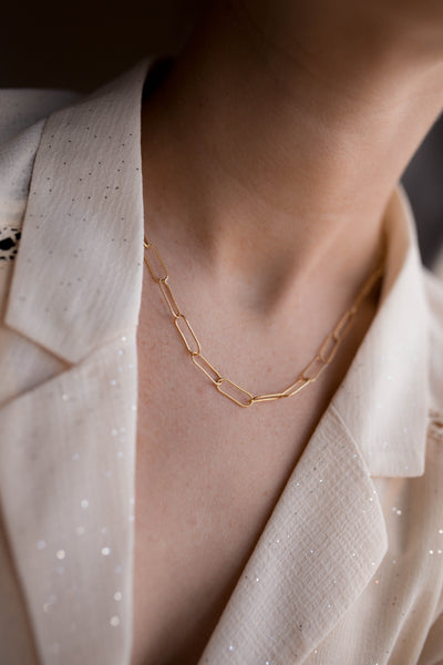 Sondr London - The Deia Chain Necklace - Gold