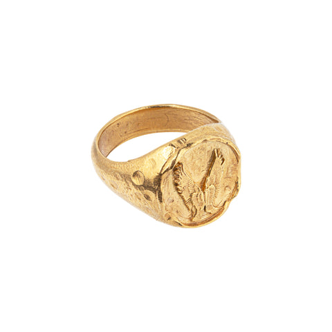 The Leap of Faith Signet Ring