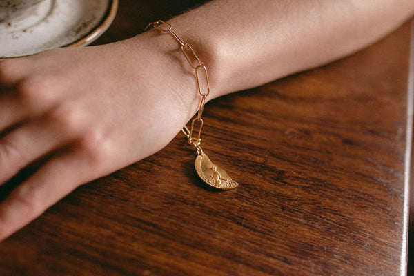 Sondr London - Lea bracelet - Gold