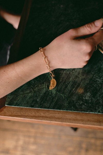 Sondr London - Leo bracelet - Gold