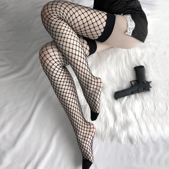 Tigh High Fishnet Socks
