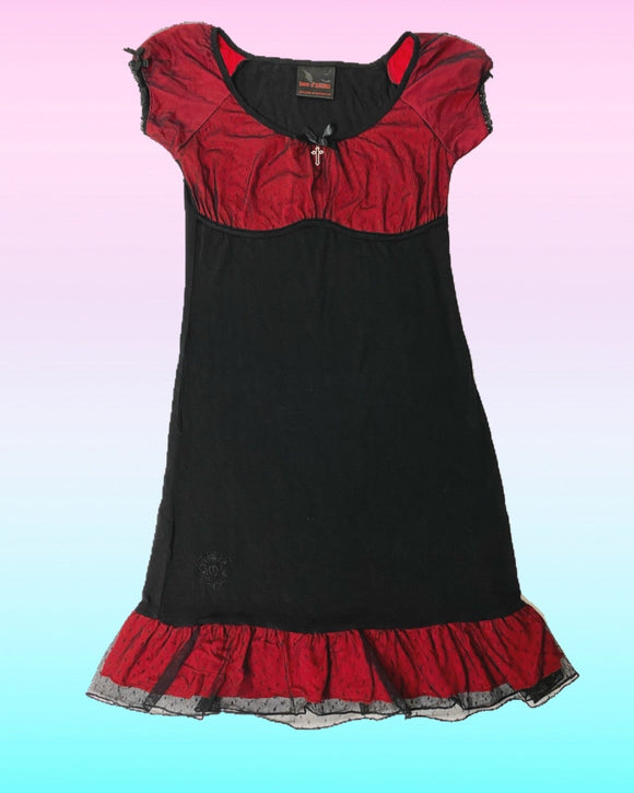 Queen of Darkness Babydoll Dress