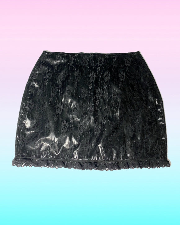 Phaze Layered Black Skirt