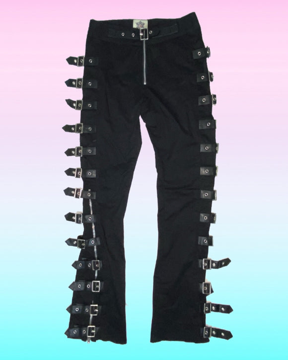 Goth Buckle Pants