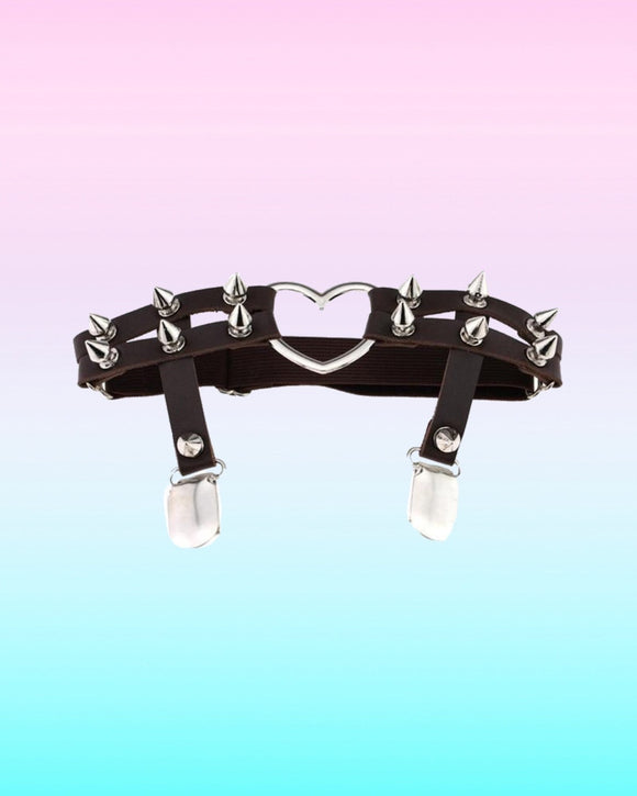Leg garter Heart Harness