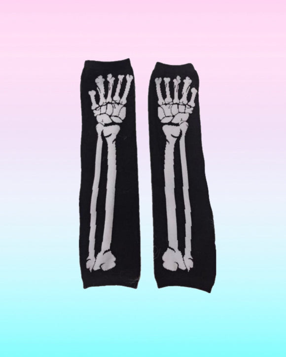 Skeleton Sleeve Gloves