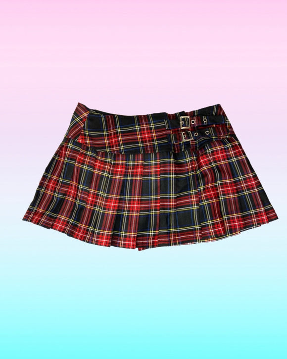 Banned Plaid Skirt