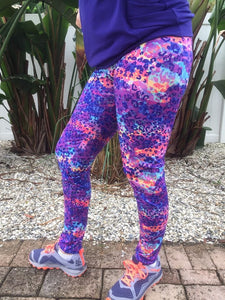 Arriving week of 12/16: Abstract Cheetah Athletic Knit (16.2 recycled plastic bottles)