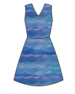 Athletic Knit: Evening Tide (16.2 recycled bottles per yard)