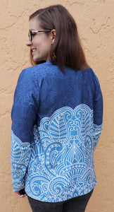 Athletic Knit: Lace Border  (16.2 recycled plastic bottles)