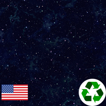 Load image into Gallery viewer, Brushed Jersey:  Night Sky (17.5 recycled bottles per yard)