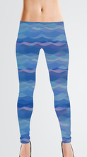Load image into Gallery viewer, Athletic Knit: Evening Tide (16.2 recycled bottles per yard)
