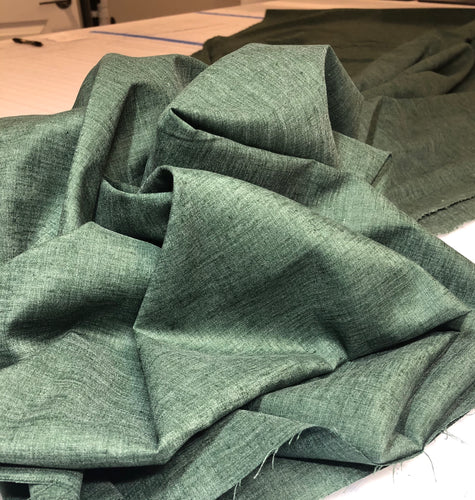 Woven: Solid Green