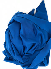 Load image into Gallery viewer, Solid Repreve Athletic Knit: Classic Blue (16.2 recycled bottles per yard)
