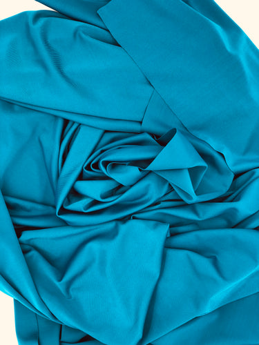 Swim: Teal Solid (13.1 recycled bottles per yard)