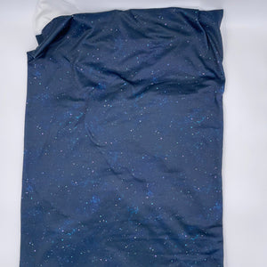 Brushed Jersey:  Night Sky (17.5 recycled bottles per yard)