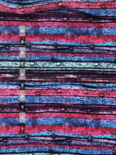 Load image into Gallery viewer, Athletic Knit: Stripey Raindrops (16.2 recycled plastic bottles)