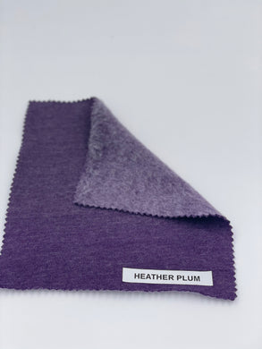 Hemp/Recycled Poly Fleece (Plum)