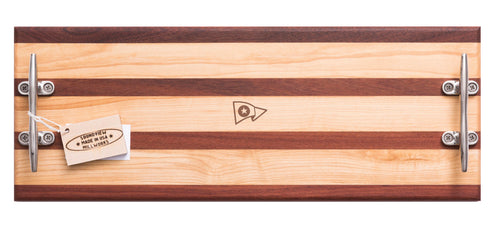 Soundview Millworks NYC Double Cleat Serving Board