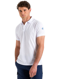 North Sails Mens Short Sleeve Pique Polo