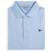 Peter Millar Men's Solid Stretch Jersey Polo With Self Collar