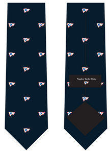 Naples Yach Club Silk Tie
