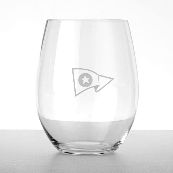 NYC Glass Stemless Wine Glass