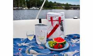 Sailor Bags Newport Insulated Wine Tote (2-Bottle)