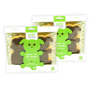 2 Packs of Yogi Sponge Human/Dog
