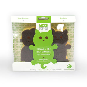 1 Pack of Yogi Sponge Human/Cat