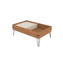 Load image into Gallery viewer, Iron Coffee Table - With sliding tray Country chic / Industrial Design